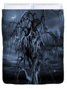 The Tree Of Sawols Cyanotype Duvet Cover