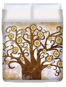 The Tree Duvet Cover by Sergey Khreschatov