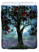The Tree That Wept A Lake Of Tears Duvet Cover by John Edwards