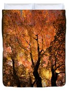The Trees Dance As The Sun Smiles Duvet Cover