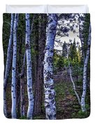 The Trees Have Eyes-d Duvet Cover