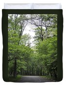 The Trees Of Illinois Duvet Cover