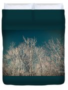 The Trees Of Teal Duvet Cover