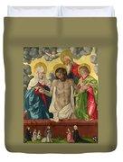 The Trinity And Mystic Pieta Duvet Cover