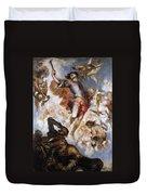 The Triumph Of Saint Hermenegild Duvet Cover