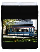 The Trolley Stop - Hotel Fiesole Duvet Cover
