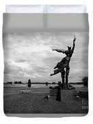 The Trumpet Sounds At Gettysburg Duvet Cover