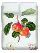 The Trumpington Apple Duvet Cover by William Hooker