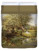 The Trysting Place Duvet Cover