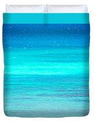 The Turquoise Sea Duvet Cover