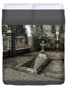 The Un-grave Duvet Cover