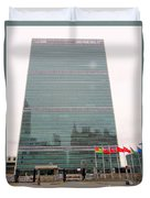 The United Nations Duvet Cover