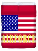 The United States Airforce Duvet Cover