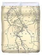 The Upper Nile Duvet Cover