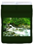 The Upper Paradise River Duvet Cover