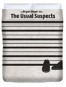 The Usual Suspects Duvet Cover