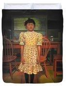 The Valentine Dress Duvet Cover