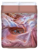 The Valley Eye Duvet Cover by Darren  White