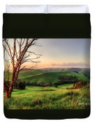 The Valley Duvet Cover by Ray Warren