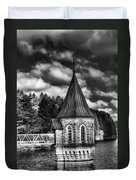 The Valve Tower Mono Duvet Cover