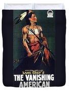 The Vanishing American Duvet Cover