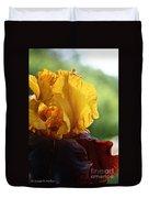The Velvet Iris Duvet Cover