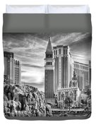The Venetian Resort Hotel Casino Duvet Cover