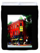 The Venice Cafe' Edited Duvet Cover