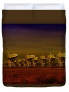 The Very Large Array In New Mexico Duvet Cover