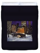 The View From The Bridge Duvet Cover