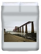 The View Of The Forth Bridge Duvet Cover