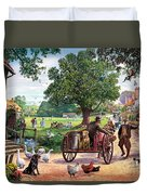 The Village Green Duvet Cover