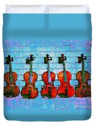 The Violin Store Duvet Cover