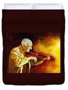 The Violinist Duvet Cover