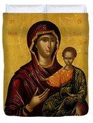 The Virgin Hodegetria Duvet Cover