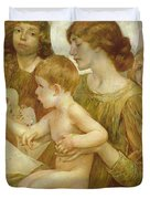 The Virgin Of The Angels Duvet Cover
