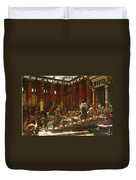 The Visit Of The Queen Of Sheba To King Solomon Duvet Cover