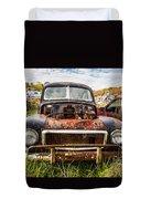 The Volvo Junkyard Duvet Cover