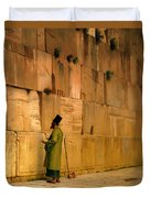 The Wailing Wall Duvet Cover