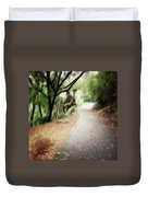 The Walk Duvet Cover