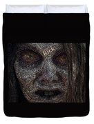 The Walking Dead Names Zombie Mosaic Duvet Cover