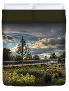 The Walking Path Duvet Cover