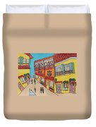 The Walled City Duvet Cover
