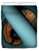 The Watcher Abstract Duvet Cover