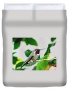 The Watchman On Duty Duvet Cover