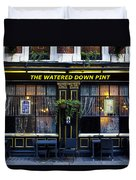 The Watered Down Pint Duvet Cover