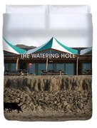 The Watering Hole Perranporth Duvet Cover