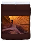 The Wave Beauty Of Sandstone 1 Duvet Cover