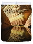The Wave Reflected Beauty 2 Duvet Cover
