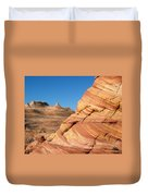 'the Wave' North Coyote Buttes 13 Duvet Cover